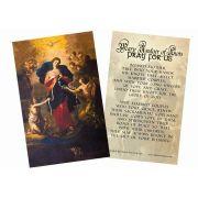 Mary Undoer of Knots Marriage Prayer Holy Card