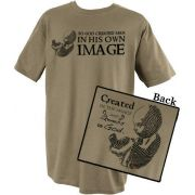 So God Created Man In His Image T-Shirt