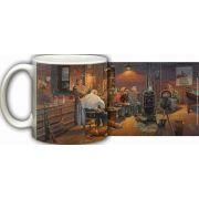 Warmth of Good Friends Mug by Dave Barnhouse
