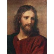 Christ at 33 by Hoffman Print