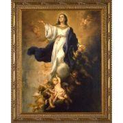 Assumption of the Virgin by Murillo - Ornate Gold Framed Art