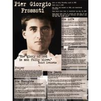 Blessed Pier Giorgio Frassati Explained Poster