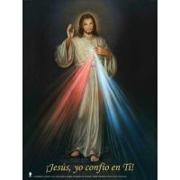 Spanish Divine Mercy Wall Graphic Poster