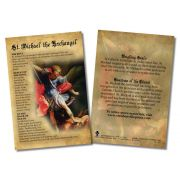 St. Michael the Archangel Faith Explained Witnessing Card - Pack of 50