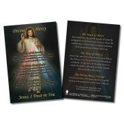 Divine Mercy Faith Explained Witnessing Card - Pack of 50
