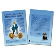 St. Catherine Laboure/Miraculous Medal Faith Witnessing Card 50Pk