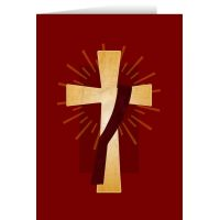 Deacon's Cross Diaconate Ordination Greeting Card