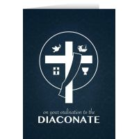 Diaconate Ordination Greeting Card