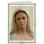 Our Lady of Medjugorje Blank Inside Card