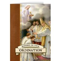 Ordination Greeting 5x7in. Card Comes With Envelopes 6pk