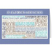 Saint Elizabeth Ann Seton Quote Card