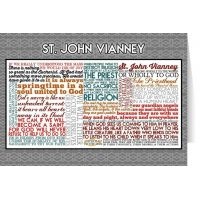 Saint John Vianney Quote Card