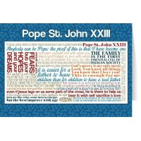 Pope Saint John XXIII Quote Card
