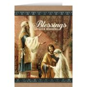 Mary & St. Joseph Wedding Greeting Card
