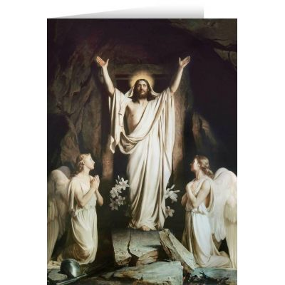 The Resurrection by Bloch Easter Season Greeting Card (6 PK) -  - STC-E803X
