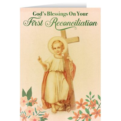First Reconciliation Blessings Greeting Card -  - STC-FR1AX
