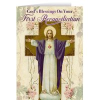 Resurrection 1st Reconciliation 5x7in. Greeting Card