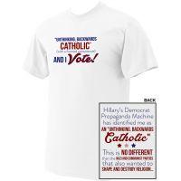 Unthinking Backwards Catholic T-shirt