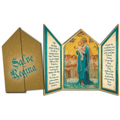 Madonna and Child Tri-fold Triptych Cards -  - TFC-113