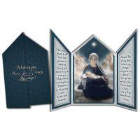 Star of Bethlehem Tri-fold Triptych Christmas Cards