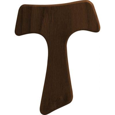 Franciscan Tau Wood Cross - Walnut -  - TAU-W