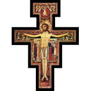 San Damiano Large Wall Plaque Cross