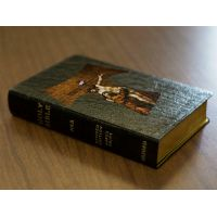 Personalized Text Bible St. Francis Tau Cross Genuine Leather NABRE