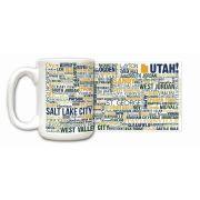 Utah State Ceramic Mugs,