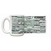 Vermont State Ceramic Mugs,