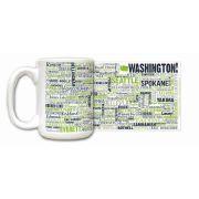 Washington State Ceramic Mugs,