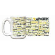 Wisconsin State Ceramic Mugs,