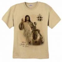 Saint Pope John Paul II and Divine Mercy T-Shirt
