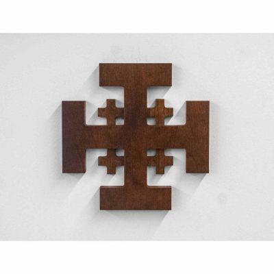 Jerusalem Wood Cross - Cherry -  - CRS-JRUWB
