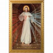 Divine Mercy by Robert Skemp - 12x20 Framed Print