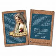 100 Year Anniversary Our Lady of Fatima Explained Card - Pack of 50