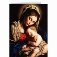 Madonna and Her Child Christmas Cards (25 Cards)