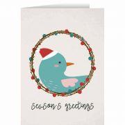 Season's Greetings with Bird Christmas Cards