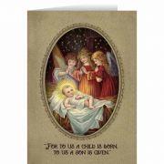 Vintage Angels in Adoration Christmas Cards