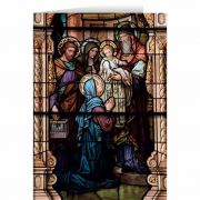 Presentation Stained Glass Christmas Cards (25 Cards)