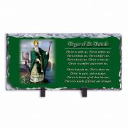 St. Patrick Prayer Horizontal Slate Tile