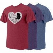 To Do a Thing Heather Pro-Life T-Shirt