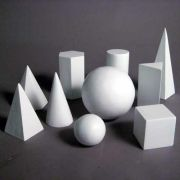 10 Piece Shape Set - Fiberglass - Indoor/Outdoor Garden Statue