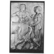 2 Men In Cavalcade Slab III - Fiberglass - Indoor/Outdoor Statue