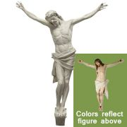 Large Corpus of Christ for Church - 86 in - Fiberglass -  Altar
