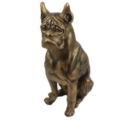 Boxer Dog 30in. High - Fiberglass - Indoor/Outdoor Garden Statue -  - F8489