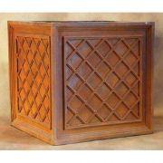 36in. Lattice Box Fiberglass Indoor/Outdoor Garden Statue