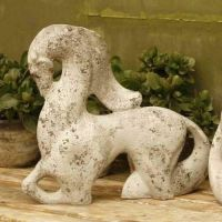Abstract Mare 14in. - Fiber Stone Resin - Indoor/Outdoor Garden Statue