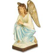 Adoration Angel 26in. Fiberglass Indoor/Outdoor Garden Statue