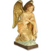 Adoration Angel 26in. - Fiberglass - Indoor/Outdoor Statue