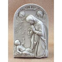Adoration Of The Child Fz 29in. High - Fiberglass Resin - Statue